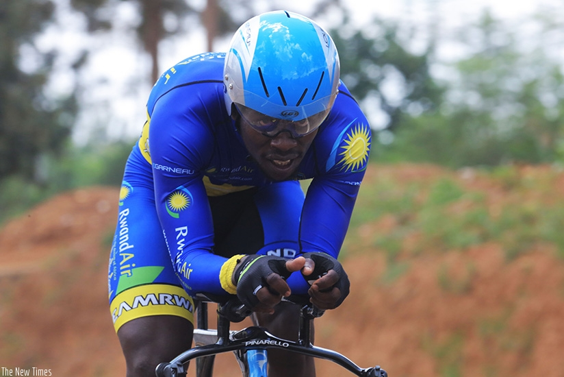 Areruya becomes the first African to join Delko-Marseille Provence KTM. Sam Ngendahimana.