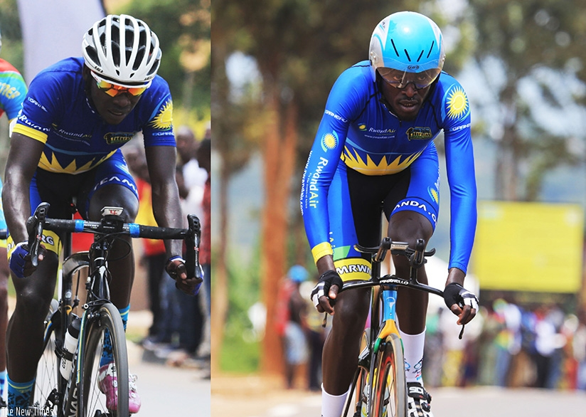 Jean Claude Uwizeye and two-time Tour du Rwanda champion Valens Ndayisenga  are set for a move to French side Pays Olonne Cycliste Cote de Lumiere. Sam Ngendahimana.