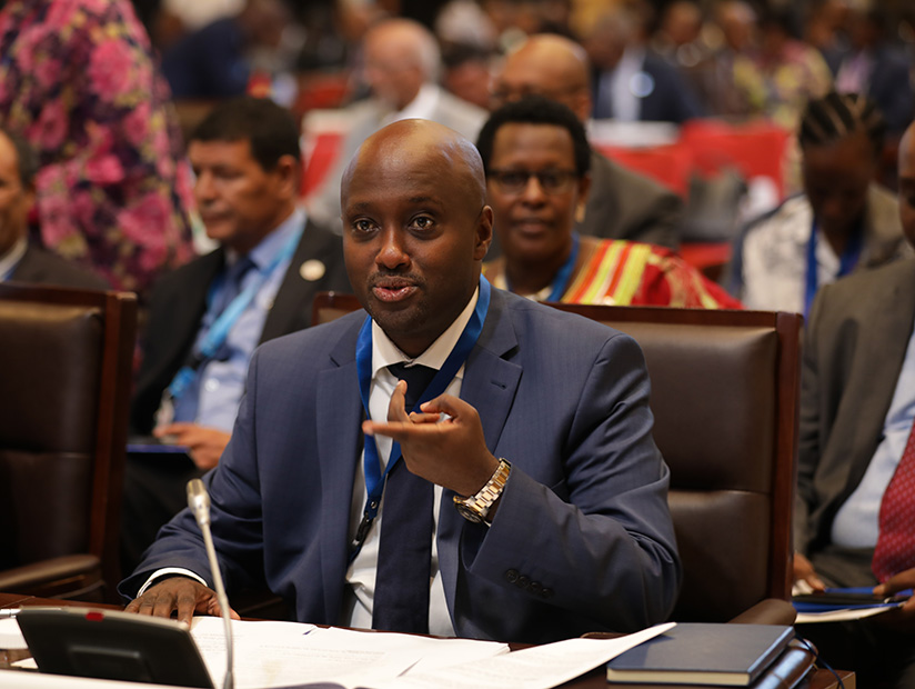 1521501046Olivier-Nduhungirehe,-Minister-of-State-of-Foreign-Affairs-speaks-at--the-meeting-of-the--Executive-council-of-ministers-of-African-Union