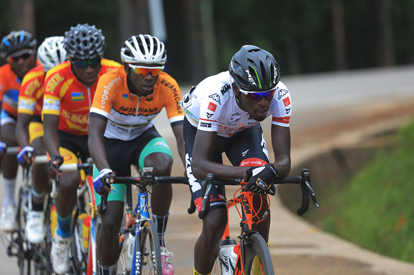 1521923239Two-time-Tour-du-Rwanda-winner-Valens-Ndayisenga-leads-the-peloton-during-the-race
