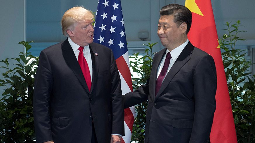 U.S. President Donald Trump and Chinese President Xi Jinping. / Internet photo