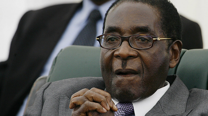Former Zimbabwean President Robert Mugabe. / Internet photo