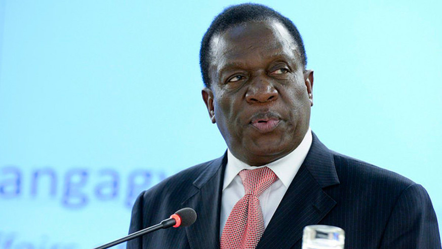 Emmerson Mnangagwa. Internet photo