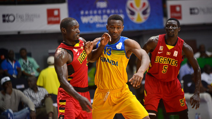 Elie Kaje (middle) contributed 16 points to the victory.