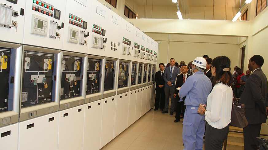 Rwf17.6 billion power substation inaugurated
