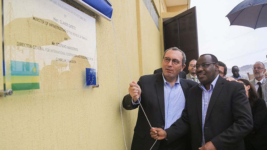 Upgrade on Mount Kigali substation to reduce power losses