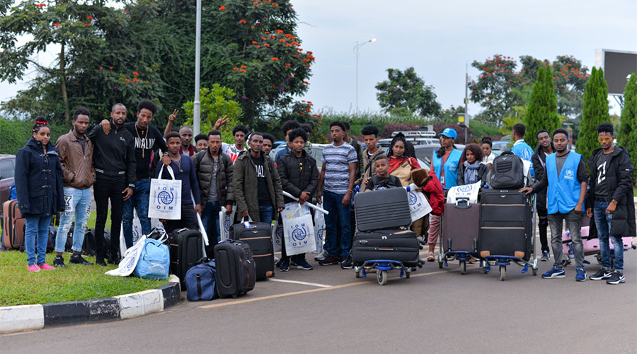 Nearly 30 African refugees relocated from Rwanda to Sweden
