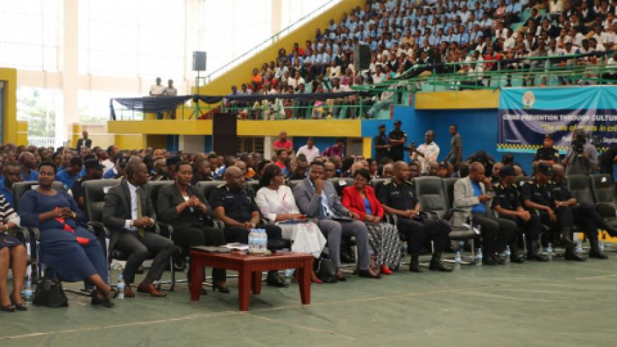 Senor government officials and RNP partners graced the community policing event.