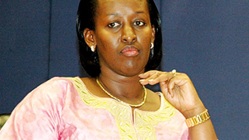 The First Lady, Mrs Jeannette Kagame