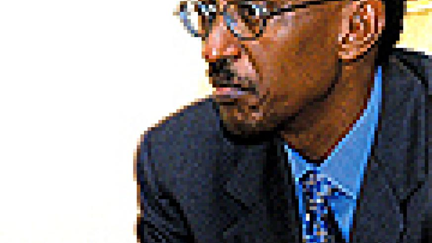 President Kagame during an earlier interview. (File photo)