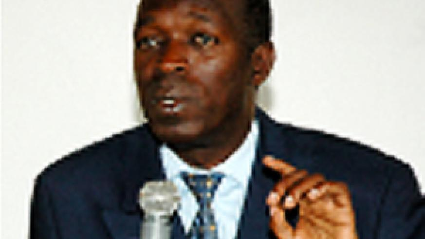 The new Minister of Public Service and Labour, Anastase Murekez