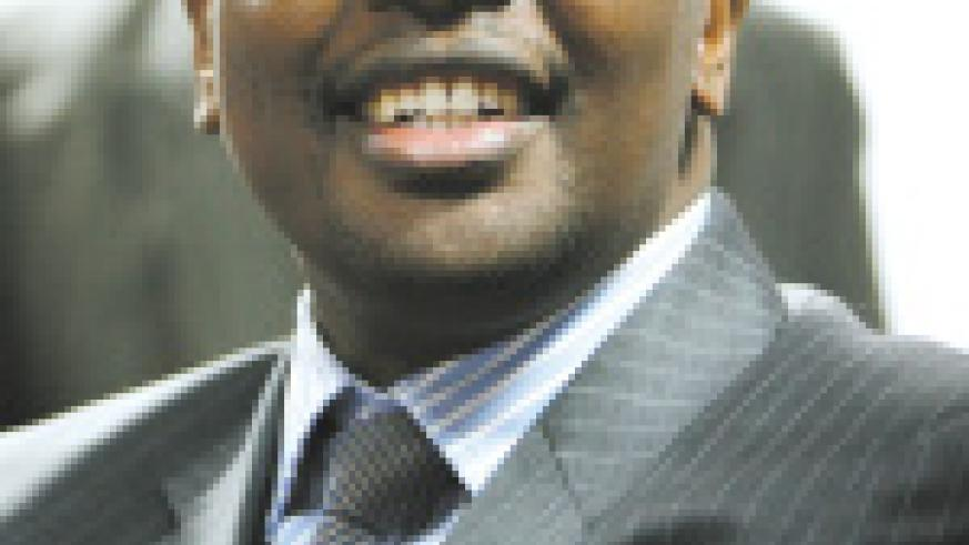 James Musoni, Minister of Finance and Economic Planning.