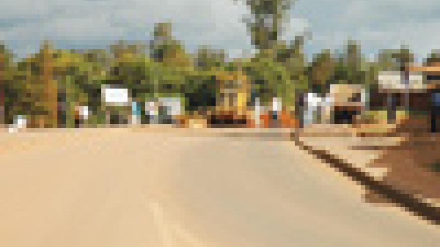 The Kicukiro – Nyamata – Nemba road . The European Union and ADB funded the tarmacking of this road.