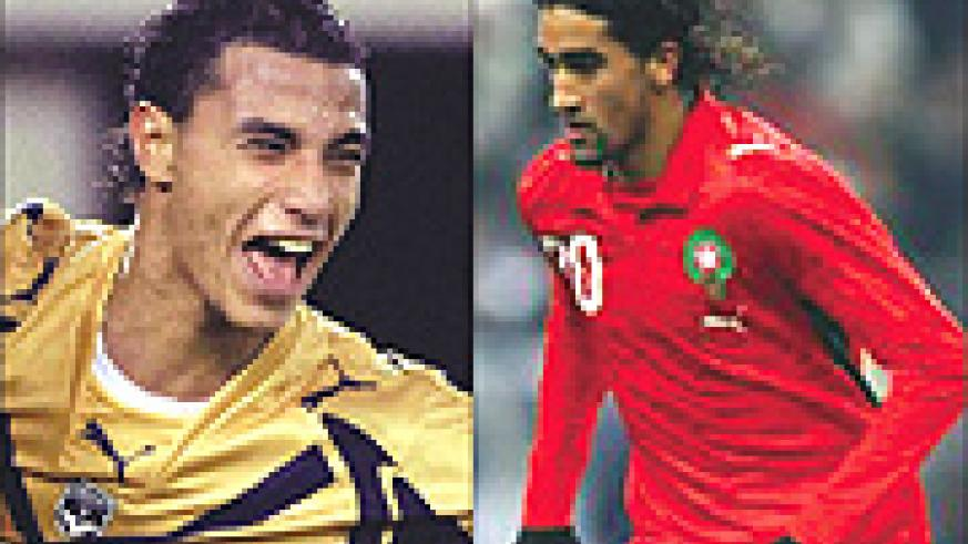 MISSING: Marouane Chamakh (L) and OUT: Youssef Hadji (R)
