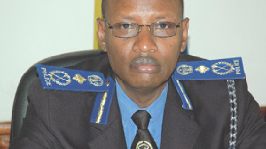 Suspended : Former police boss Andrew Rwigamba. (File photo)