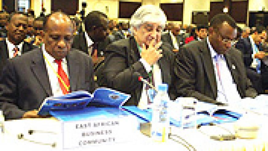 Delegates attending East African Investment Conference.