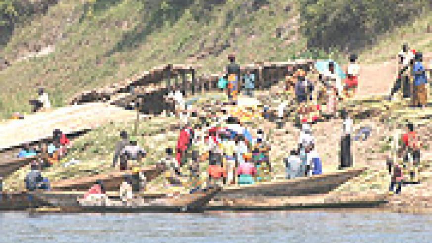 Business at Nkombo Island.