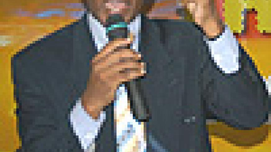 Isaac Mulindwa, the Organising Committee Chairman