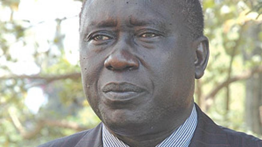 Justice Minister and Attorney General, Tharcisse Karugarama.