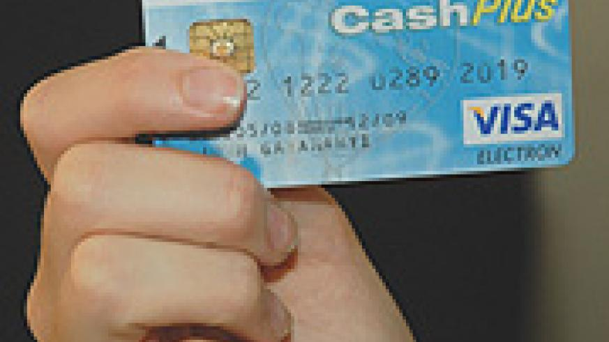 ATM card. Many clients are complaining they can't use their cards at ATM machines. (Photo/J. Mbanda)