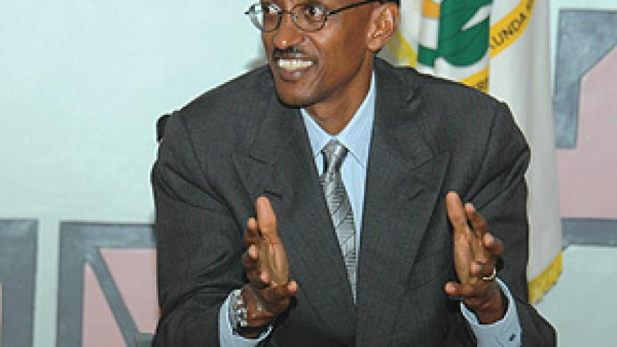Kagame has been at the forefront of removing regional trade barriers. (File photo)