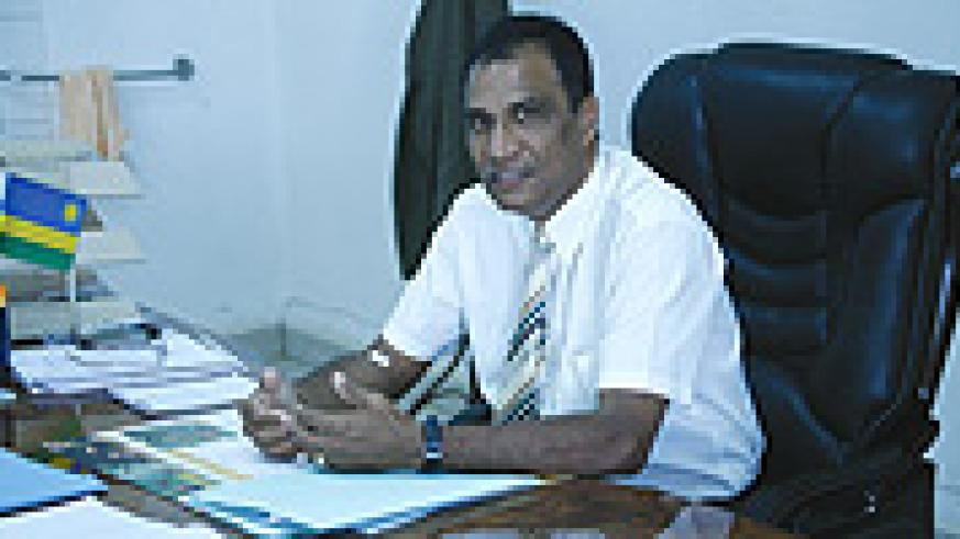 School of Finance and Banking Rector Prof. Govender Krishna. (File Photo).