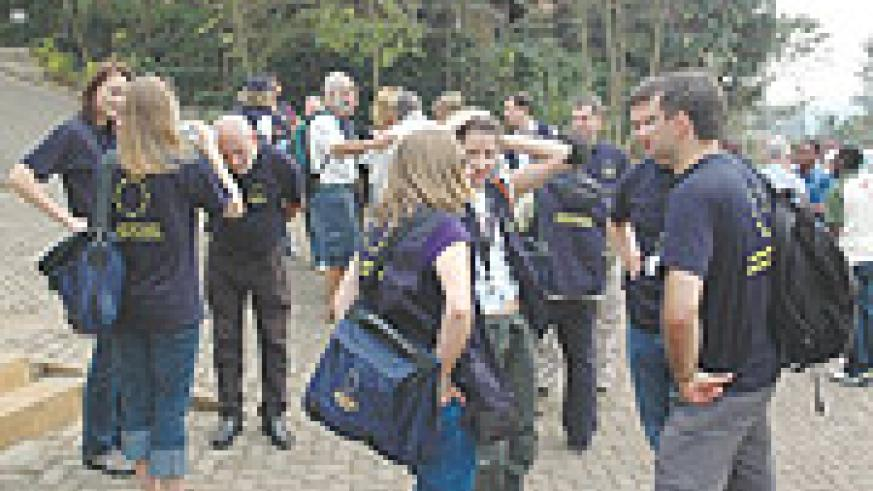Tour of duty: Relaxed EU observers in Rwanda