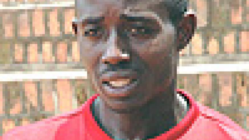 RWANDA'S TOP SEED: Eric Hagenimana will not be taking part in the event.