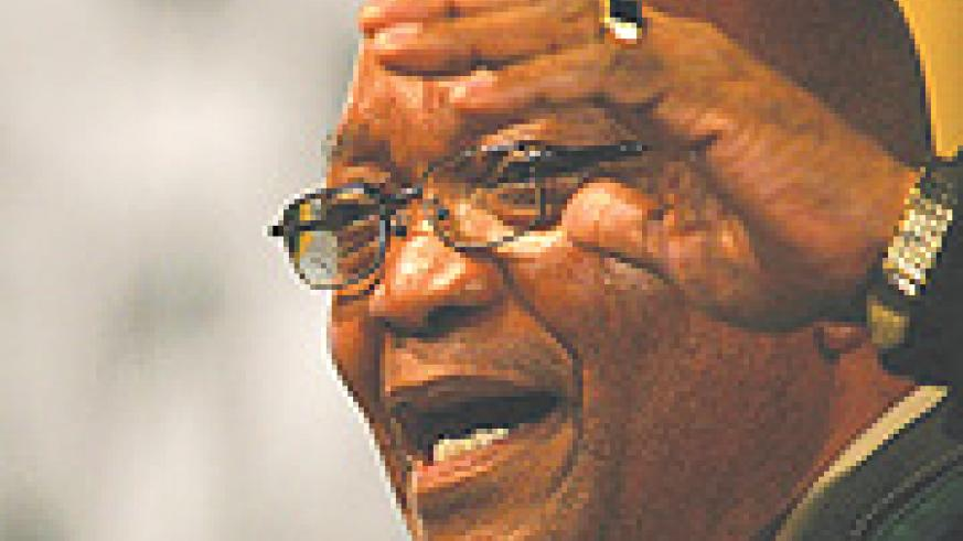 South Africa's  African National Congress (ANC) leader Jacob Zuma: can he bring the party together again?