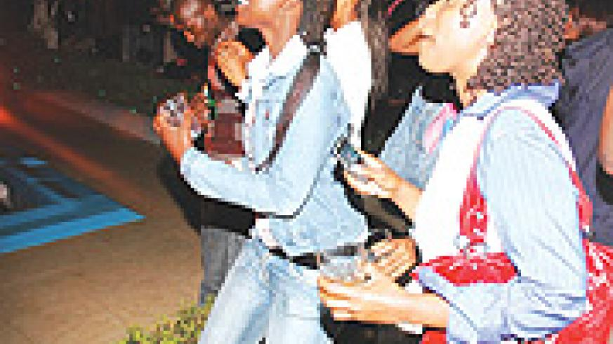 Teenagers dancing themselves lame on a fine Friday in one of Kigali's most booming hangout. (Photo  file).