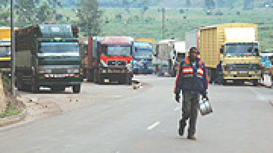 Gatuna Border: Common Market to facilitate free movement of goods and services. (File photo).