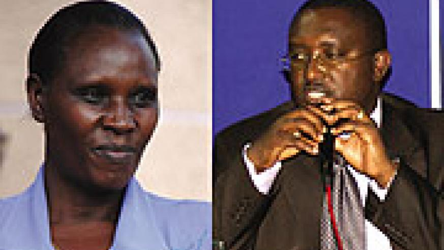 Gahakwa Daphrose (minister of education) and Theoneste Mutsindashyaka (state minister of education)  to oversee the implementation