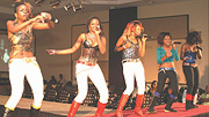 Obsessions on stage at Serena Hotel