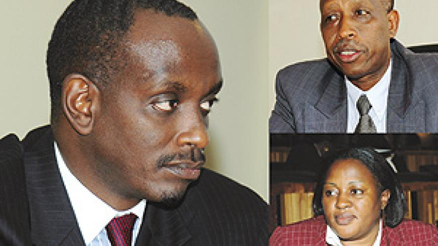 CW: Dr. Richard Sezibera : Big task- former envoy takes over health ministry, Amb. Joseph Mutaboba : Takes over the great lakes region, Penelope Kantarama: from Governor to Internal Security ministry.