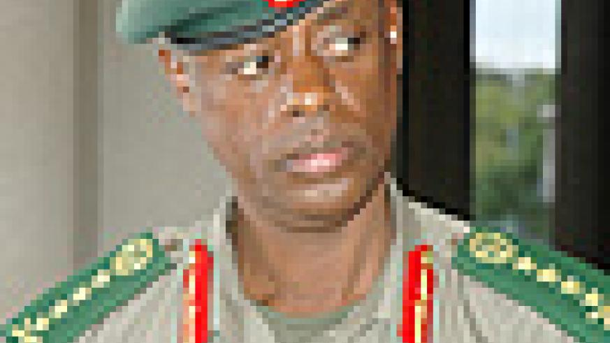 Chief of Defence Forces, Gen. James Kabarebe.