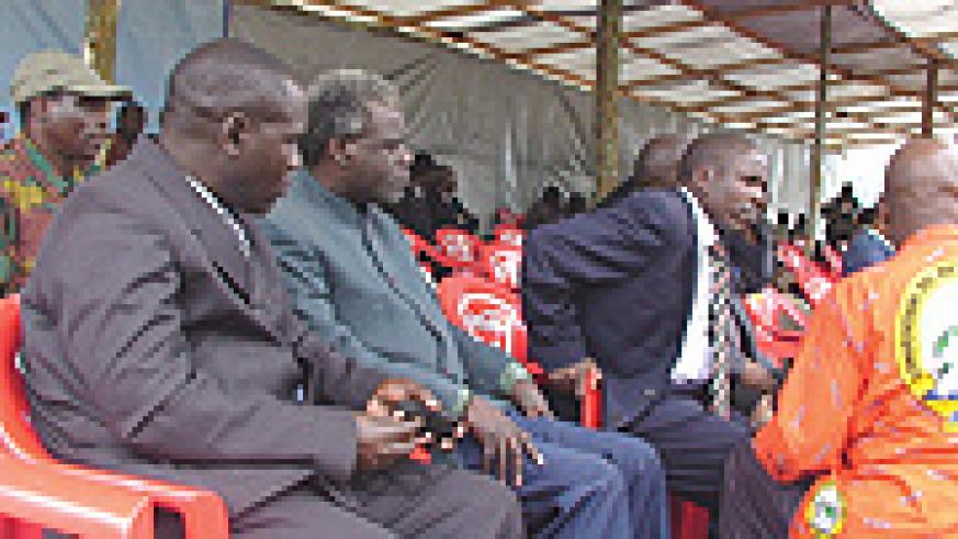 Some leaders of RUD-Urunana, a break-away faction of the FDLR