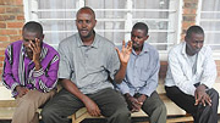 These men were arrested for Exproriatiom malpractices.