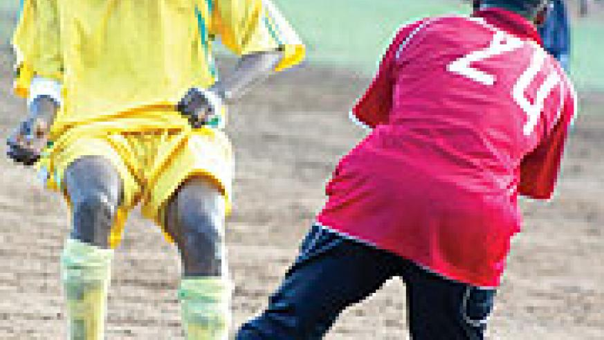 IMPRESSIVE DOUBLE: Lomami has been impressive since his move from Rayon Sports this season.