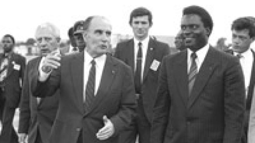 The personal relationship between French President François Mitterand and Juvenal Habyarimana still influence Franco-Rwanda relations.