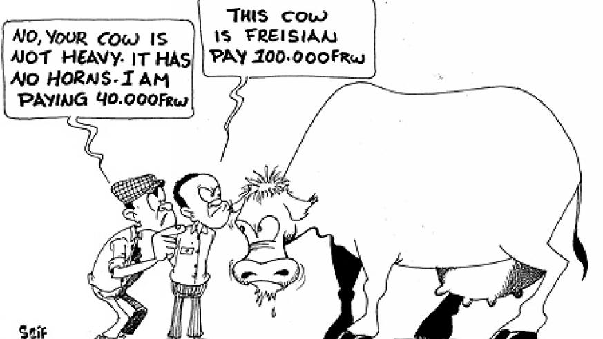 Cattle traders in Nyagatare have abandoned the use of the weighing machines earlier placed at various cattle markets.