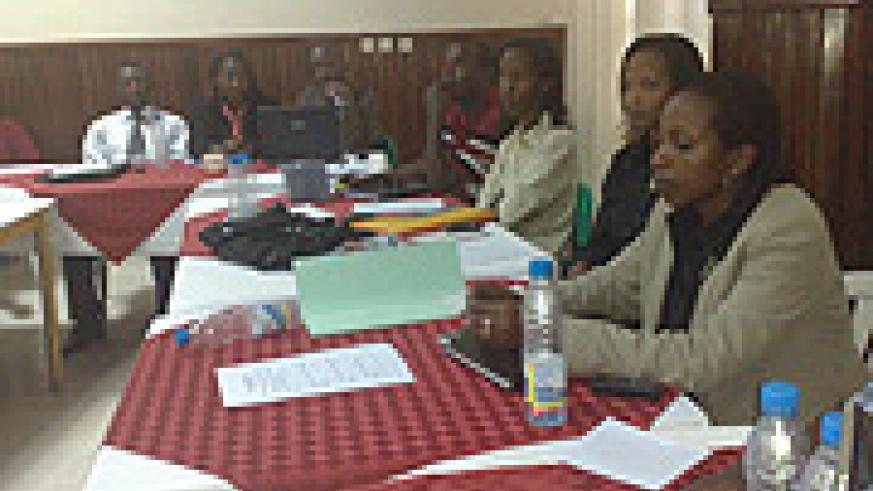 Some of Programme Managers who underwent the training.