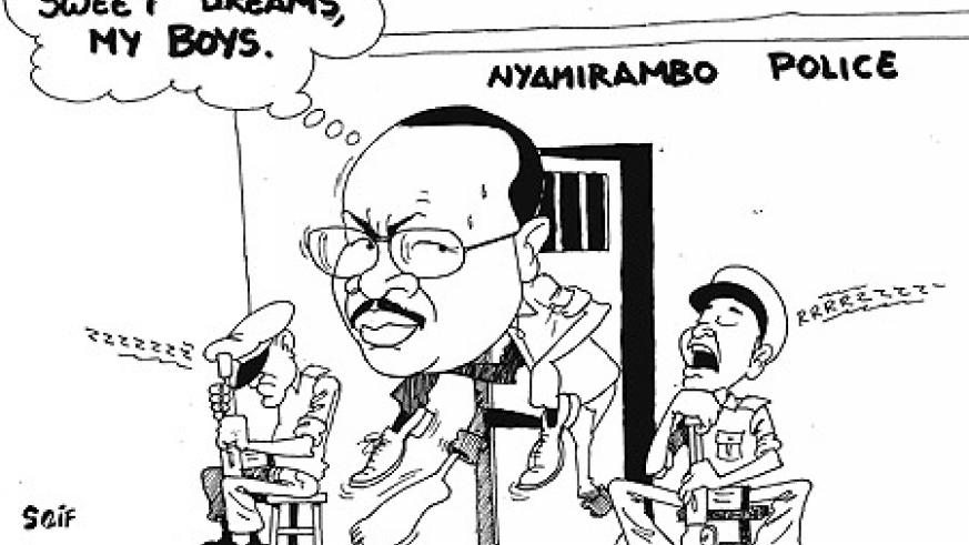 The Permanent Secretary of the Ministry of Education, Justin Nsengiyumva early this week escaped from police custody at Nyamirambo station.