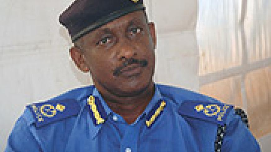 The Director of Medical Services in the national Police Ass.Com Dr Wilson Rubanzana.
