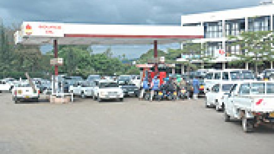 An over crowded Petrol station(File Photo) .
