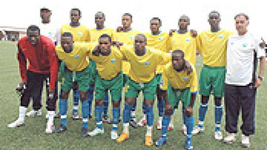 ON THE RISE: sAmavubi Stars that stunned Morocco in the 2010 World/Nations Cup qualifiers (File photo)