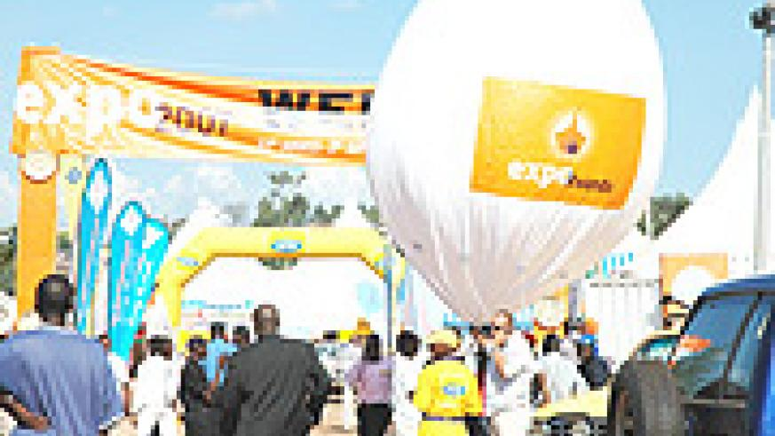 Gikondo Expo ground: Through attending international exhibitions, some entrepreneurs have partnered with other businesses and gained  skills (File photo).