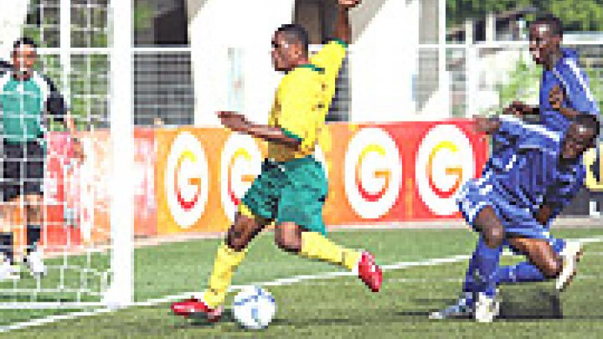 GOAL HUNTER: Labama Bokota Kamana will be leading Rwanda's goal hunt in Cecafa.