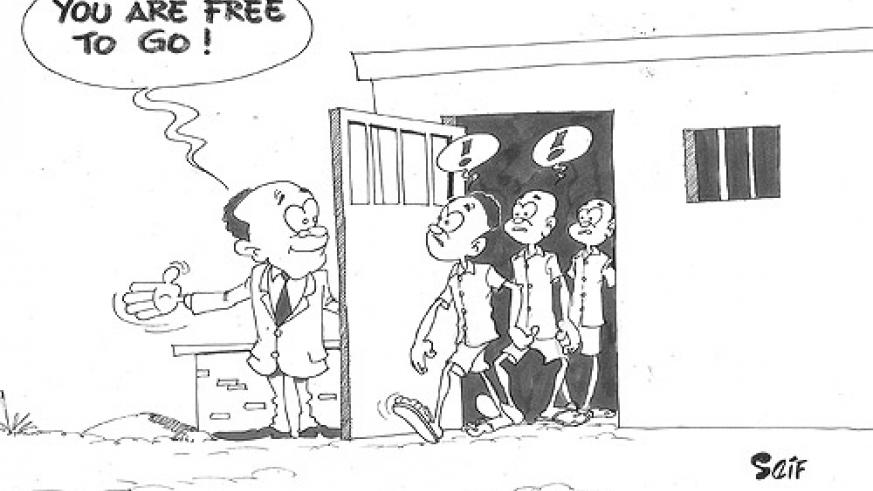 Cabinet on Wednesday aproved the release of 649 prisoners.