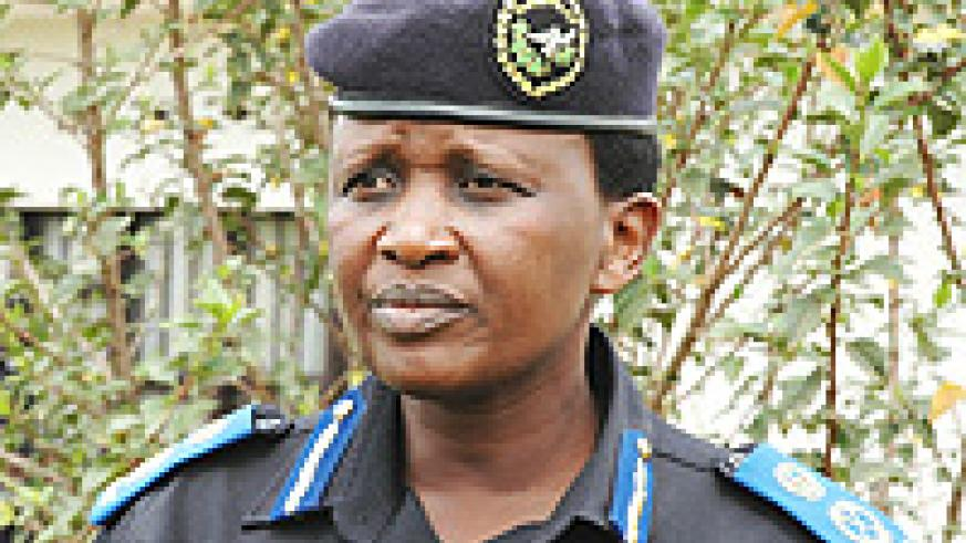 Acting Commissioner General of Police, Mary Gahonzire. (File Photo).