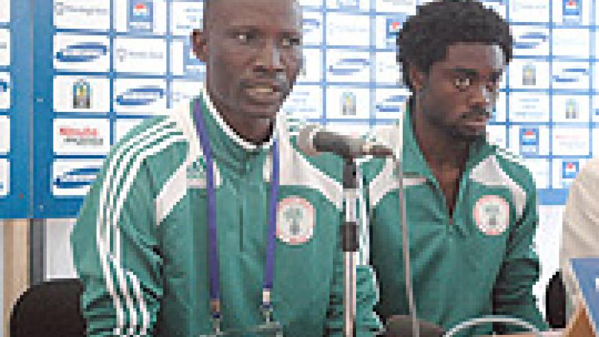 LIVING ON BORROWED TIME: Nigeria Coach Ladan Bosso has come under heavy criticism. (Photo / G. Barya)